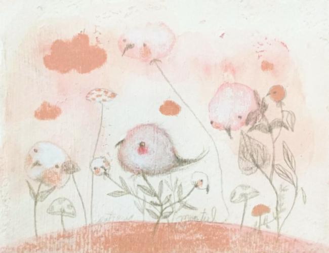 Recuerdo en rosa V