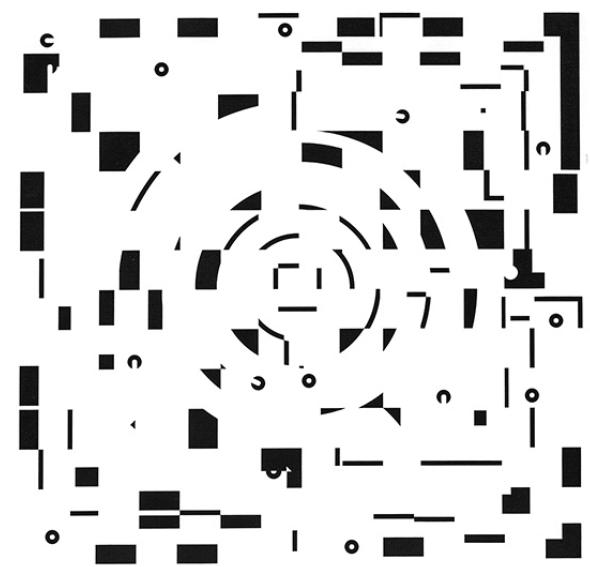 Ajedrez y circuito laberíntico transparente - Ernesto Ríos