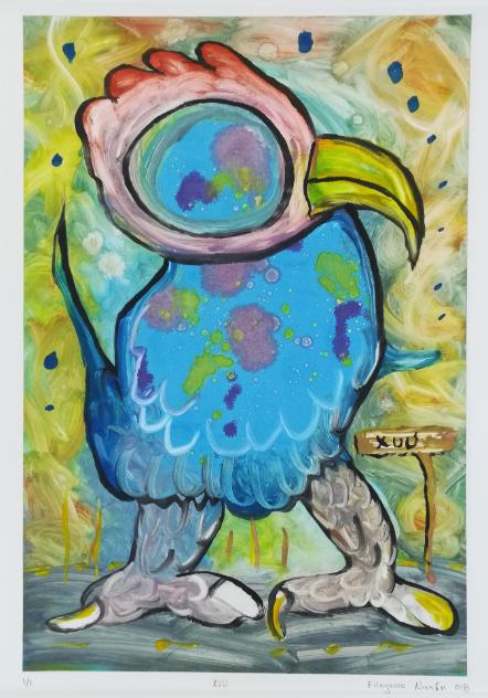 Filogonio Naxin- Pájaro