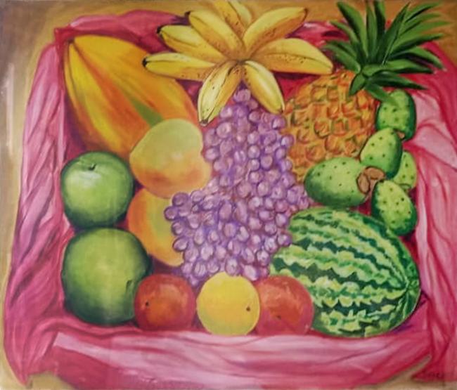 Frutas del mercado - Soledad Tafolla