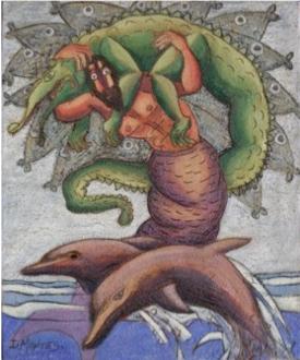 DE la serie juego de lagarto: Tritón