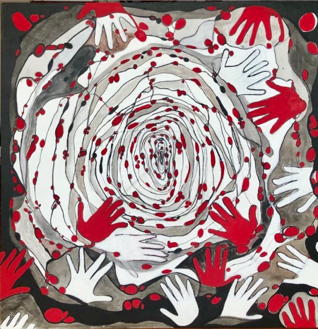 Tránsito entre dimensiones - Victoria Ezquerra Borobia