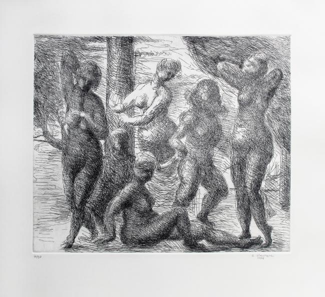 Musas en negro 10/30 - Germán Venegas