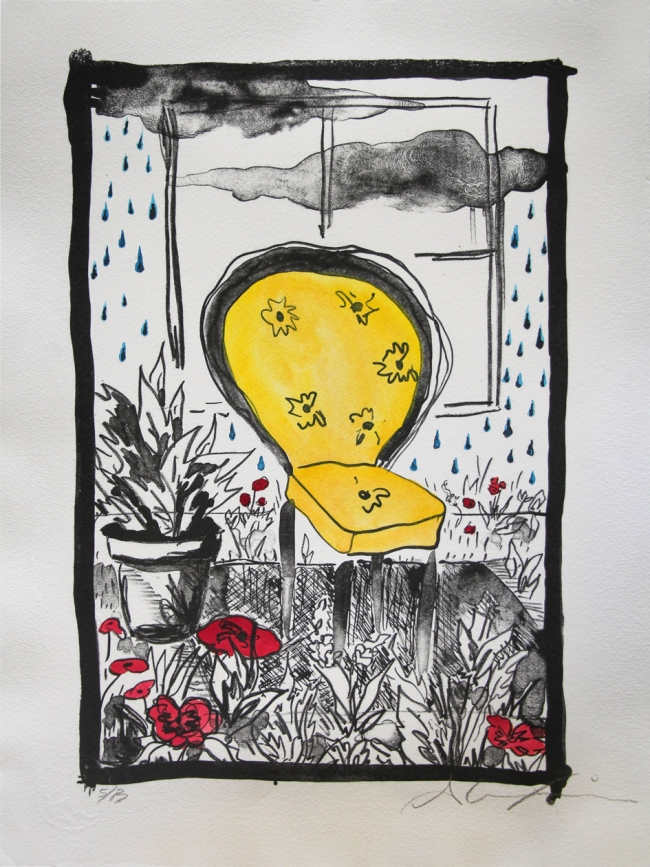pluvian - silla amarilla 12/13 - Alexia López Sosa