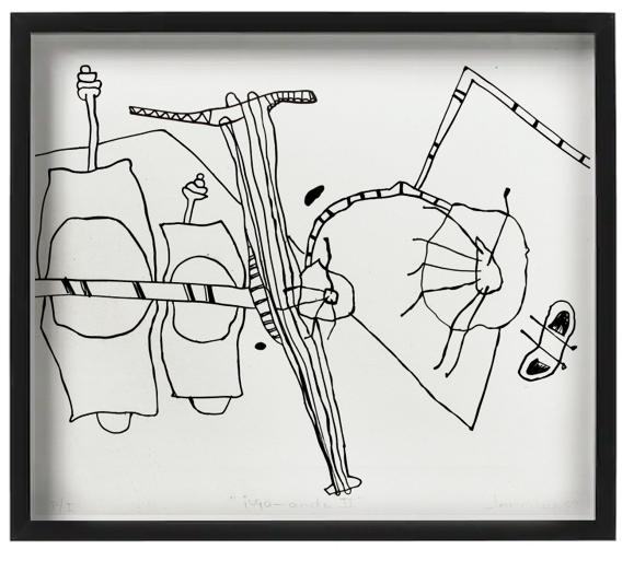 CARMEN JACOBO . Juga - ando II - Varios Artistas En La Gráfica