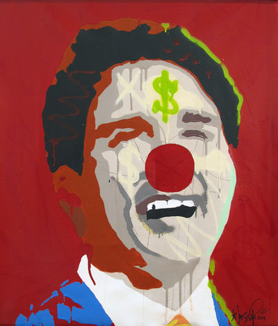 Gangster Clown (Justin Trudeau) 1