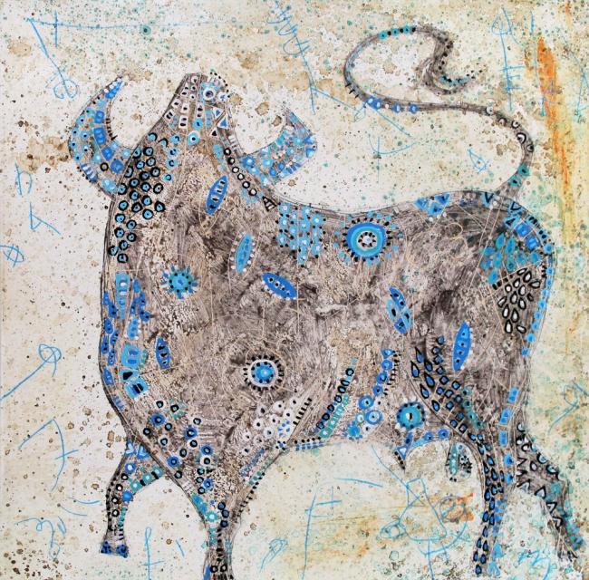 Toro azul - Luis Lara