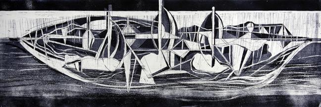 Barco nocturno - Gabriel Macotela