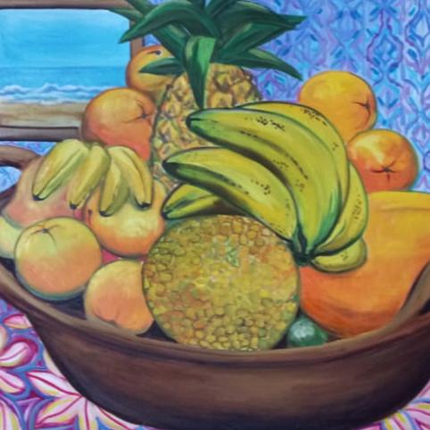 Cazuela con frutas