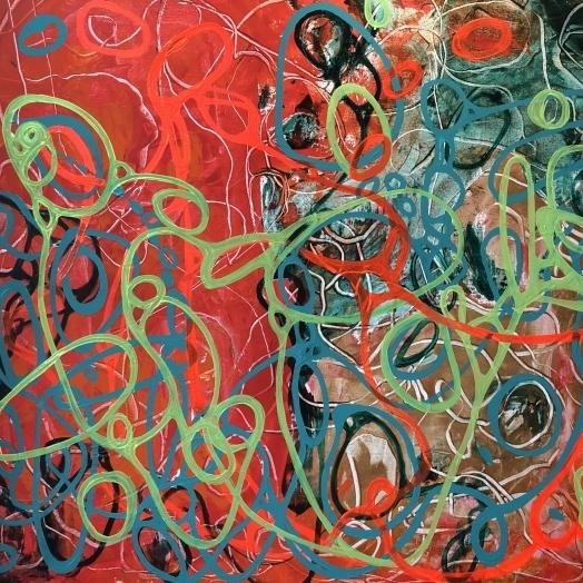 Cosmos Rojo y verde