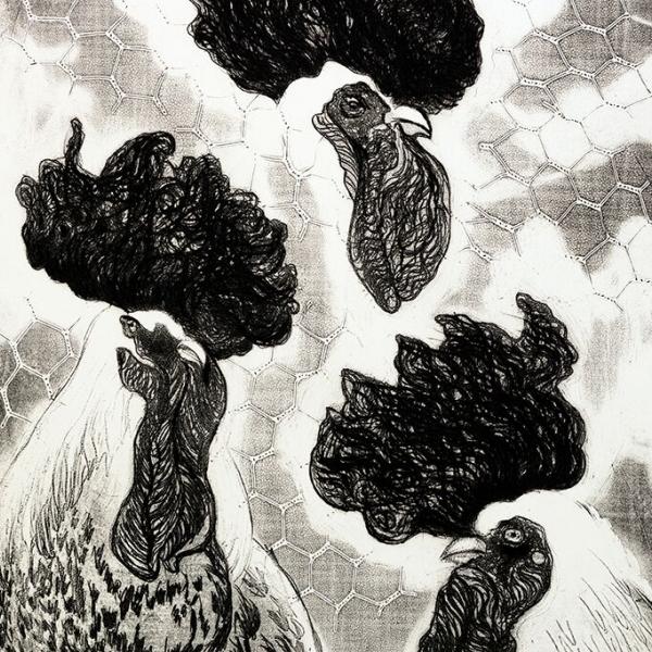 Tres gallos