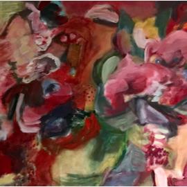 Flores en rojo 2