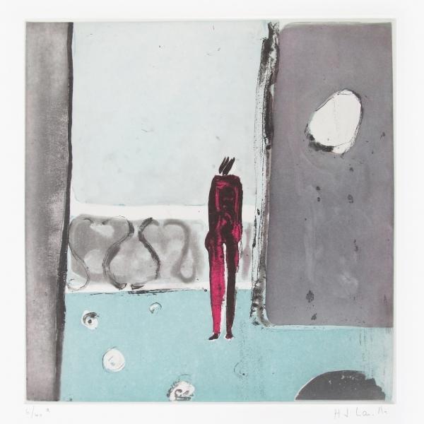 Mujer en el balcón 7/40 a