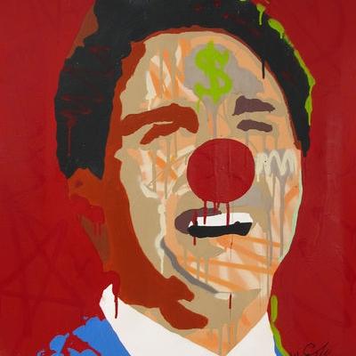 Gangster Clown (Justin Trudeau) 2