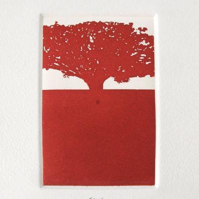 Sin Título 12/100 (árbolito rojo)