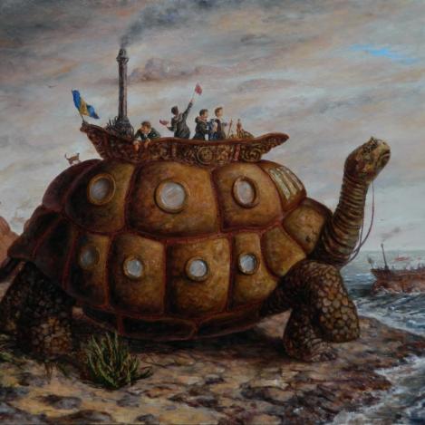 Las naves tortuga