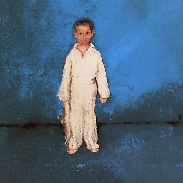 Niño azul