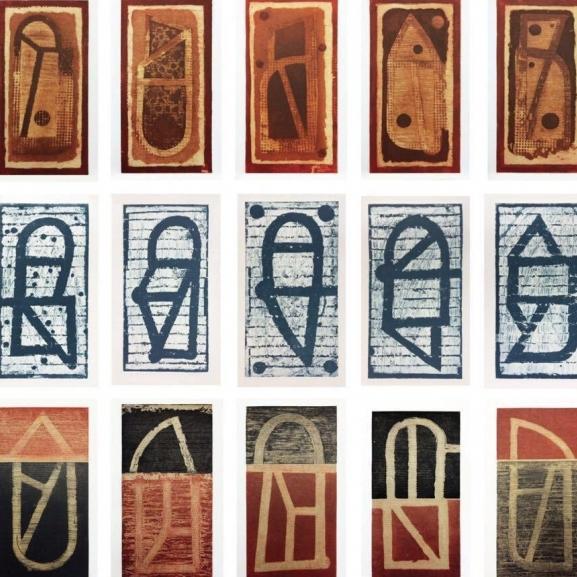 Juego de letras Carpeta 20 piezas