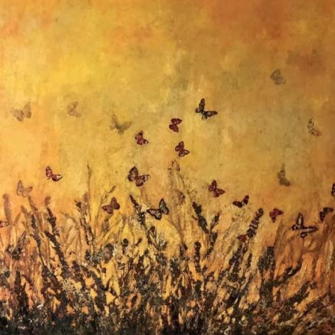 Resplandor de mariposas