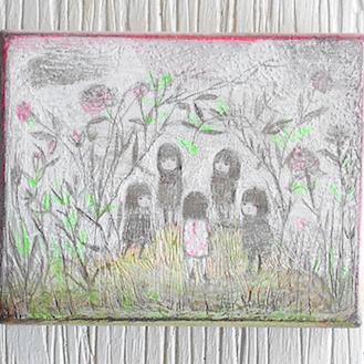 Reunión secreta en el jardín
