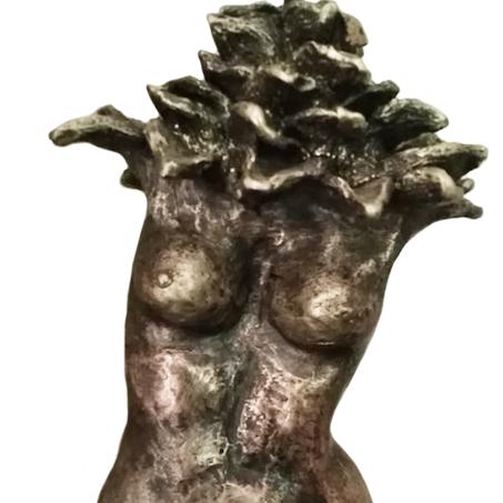 Mujer flor