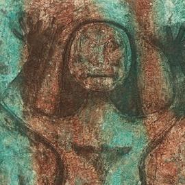 Mujer con los brazos en alto
