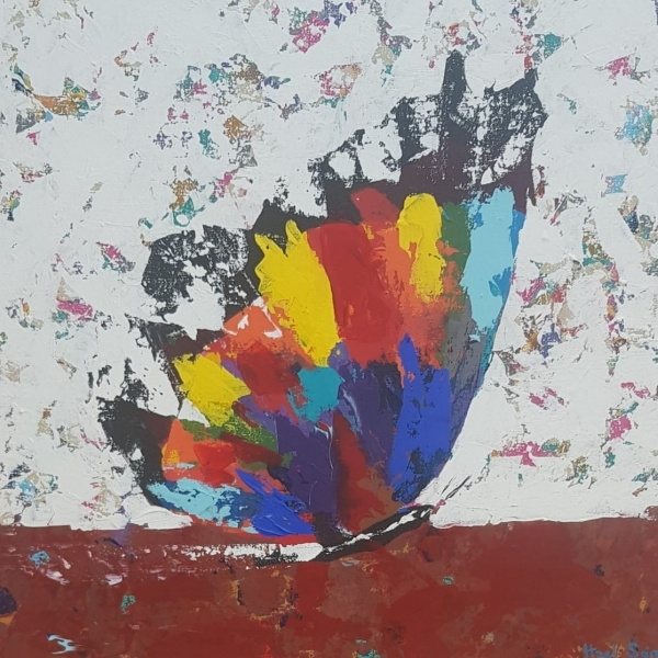 Mariposa vibrante II