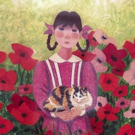 Trinidad Osorio_ Niña de las flores