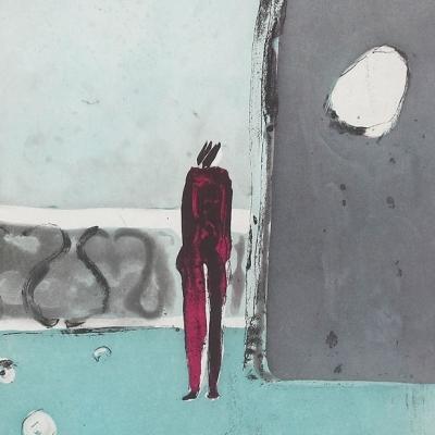 Mujer en el balcón 16/40