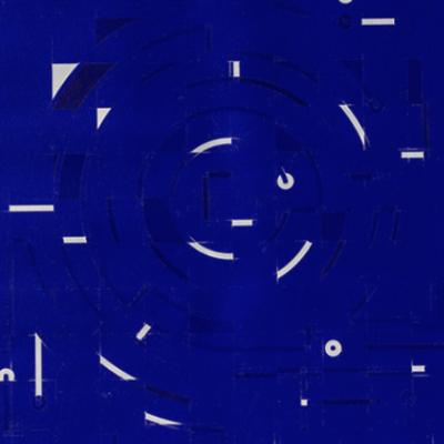 Ajedrez y circuito laberíntico azul
