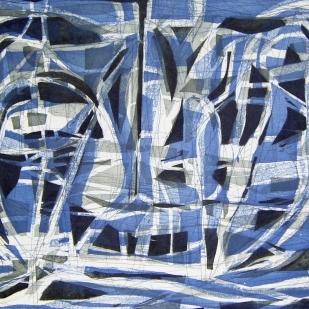 Paisaje (azul)