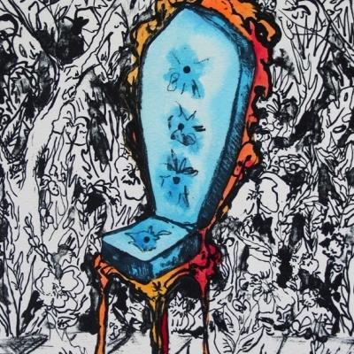 Arboribus - silla azul