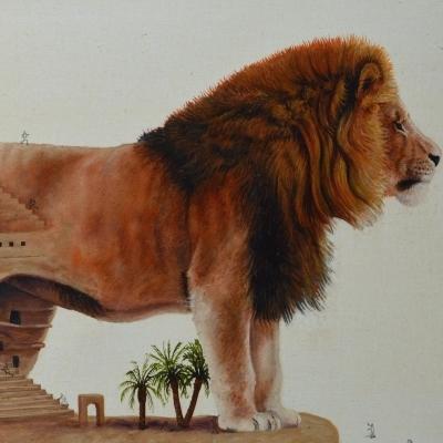 Desierto representativa de egipto