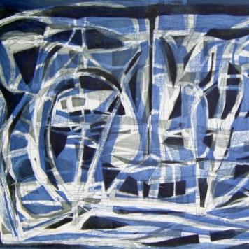Paisaje (azul) 20/30