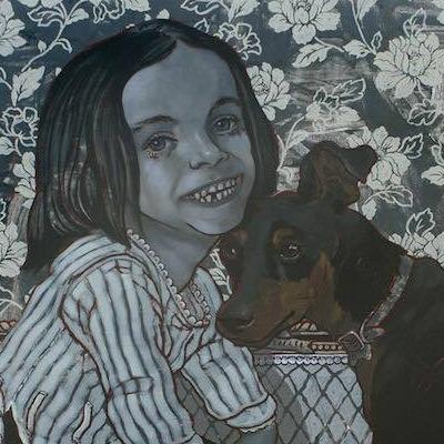 Retrato de Gabriela Bustos y Jade
