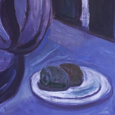 ROBERTO PARODI - Paisaje Violeta