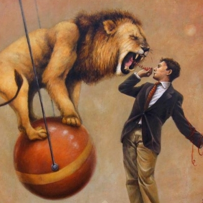 El león no es como lo pintan.