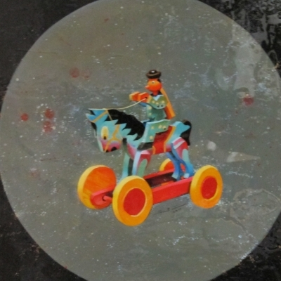 Salvador Santana- Caballo galáctico