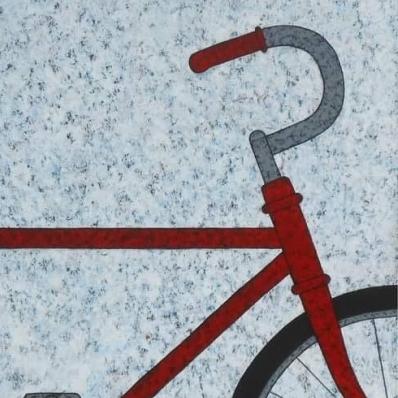 Bici roja