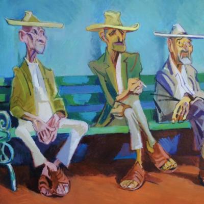 Viejos del pueblo