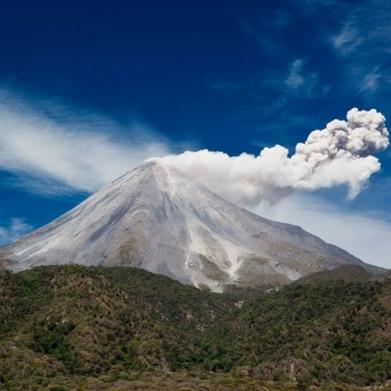 Don volcán visto desde arribita del nuevo Naranjal. Precio según precio y medida