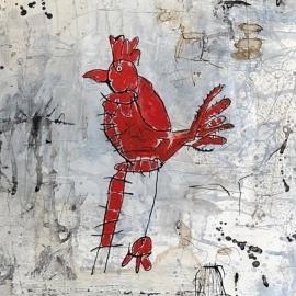 Mi gallo rojo