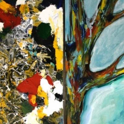 Corteza y árbol (de la serie cartografías)