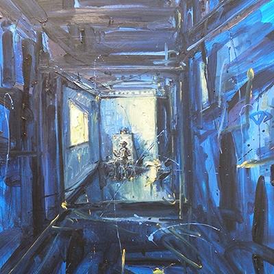 La soledad del pintor V