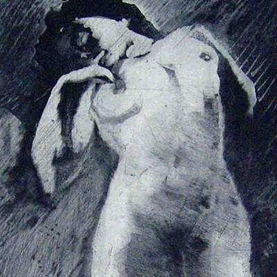 OSCAR ÁLVAREZ - Mujer durmiendo