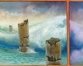 Erosión de mar