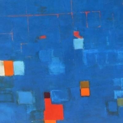 Espacio en azul