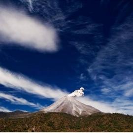 Nuestro volcán de fuego. Precio según soporte y medidas