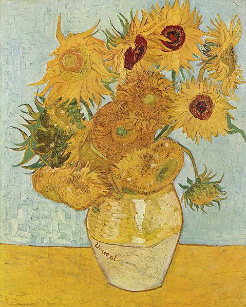 Girasoles, Vincent Van Gogh
