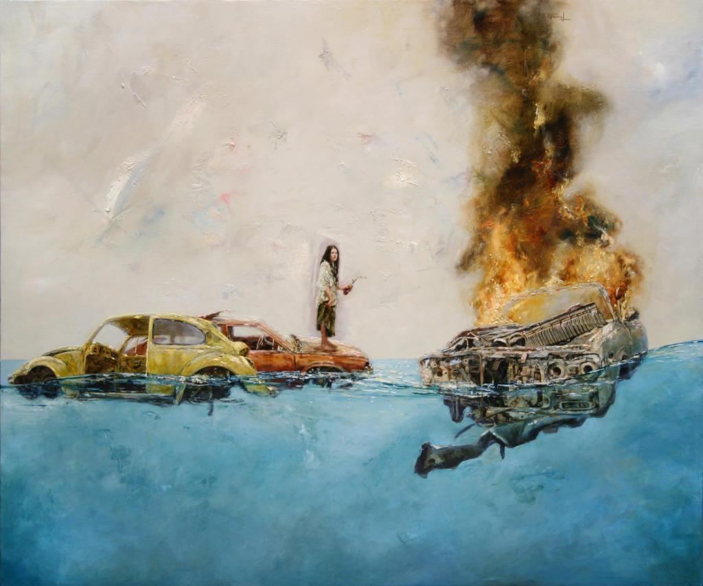Burn, Sergio Garval
